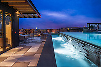 Exterior image of Highline at Union Market Apartments in Washington DC by Jeffrey Sauers of CPI Productions