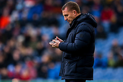 Leicester City manager Brendan Rogers writes down some notes - Mandatory by-line: Robbie Stephenson/JMP - 19/01/2020 - FOOTBALL - Turf Moor - Burnley, England - Burnley v Leicester City - Premier League