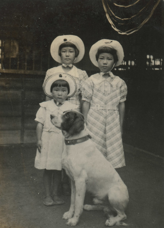 Japanese Vernacular or &quot;Found Photograph&quot;: <br /> <br /> Sisters with dog<br /> 1930s<br /> Anonymous<br /> <br /> - Vintage original gelatin silver print. <br /> - Size: 2 1/4 in. x 3 1/8 in. (57 mm x 78 mm).<br /> <br /> Price &yen;7000 JPY<br /> <br /> <br /> <br /> <br /> <br /> <br /> <br /> <br /> <br /> <br /> <br /> <br /> <br /> <br /> <br /> <br /> <br /> <br /> <br /> <br /> <br /> <br /> <br /> <br /> <br /> <br /> <br /> <br /> <br /> <br /> <br /> <br /> <br /> <br /> <br /> <br /> <br /> <br /> <br /> <br /> <br /> <br /> <br /> <br /> <br /> <br /> <br /> <br /> <br /> <br /> <br /> <br /> <br /> <br /> <br /> <br /> <br /> <br /> <br /> <br /> <br /> <br /> <br /> <br /> <br /> <br /> <br /> <br /> <br /> <br /> <br /> <br /> <br /> <br /> <br /> <br /> <br /> <br /> <br /> <br /> <br /> <br /> .