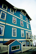 Image of the Sylvia Beach Hotel in Newport, Oregon, Pacific Northwest