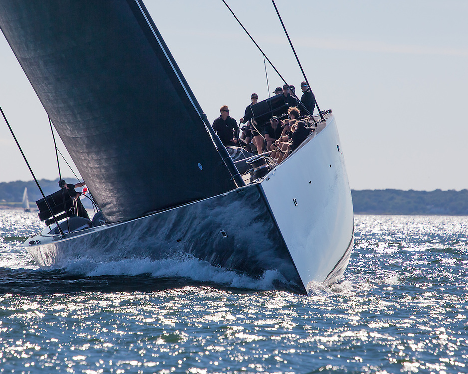 Sailing in the 2013 Newport Bucket