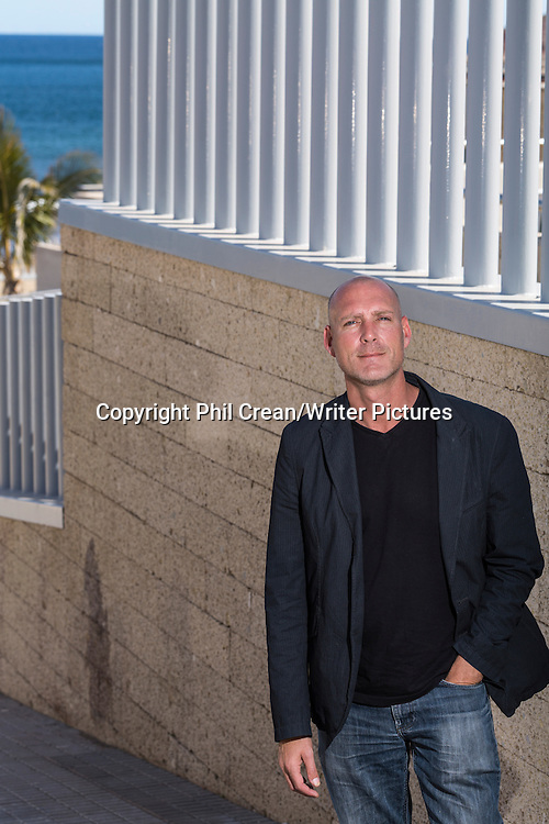 Lee Bullen, ex pat British author living in Tenerife, Canary Islands, Spain..<br />