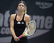 Camila Giorgi (ITA) on Day Three of the WTA Generali Ladies Linz Open at TipsArena, Linz<br /> Picture by EXPA Pictures/Focus Images Ltd 07814482222<br /> 12/10/2016<br /> *** UK & IRELAND ONLY ***<br /> <br /> EXPA-REI-161012-5010.jpg
