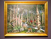 'Foxgloves'  1920 oil painting on canvas by Nikolai Astrup 1880-1928, Kode 4 art gallery Bergen, Norway