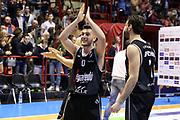 Spissu<br /> Unieuro Forlì - Segafredo Visrtus Bologna<br /> Campionato Basket LNP 2016/2017<br /> Forlì, 02/04/2017<br /> Foto Ciamillo-Castoria/A. Gilardi