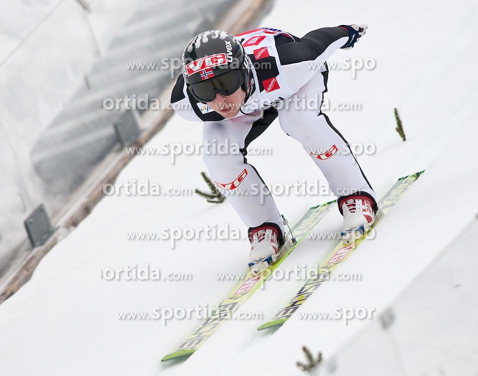 18.03.2010, Triglav, Planica, SLO, FIS SKI Flying World Championships 2010, Training, im Bild JACOBSEN Anders ( NOR, #64 ), EXPA Pictures © 2010, PhotoCredit: EXPA/ J. Groder / SPORTIDA PHOTO AGENCY