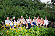 25-7-2015 - Grasten - Denmark Princess Mary with Vincent and Prince Christian and Princess Isabella and Prince Frederik and Princess Josephine and Queen Margrethe and Prince Henrik and Princess Alexandra and Count Jefferson von Pfeil und Klein-Ellguth and son Count Friedrich Richard Oscar Jefferson von Pfeil und Klein-Ellguth and daughter Lady Ingrid Alexandra Irma Astrid Benedikte von Pfeil und Klein-Ellguth pose for the media at the Palace Grasten in Graasten, Danmark, 25 July 2015. COPYRIGHT ROBIN UTRECHT <br />