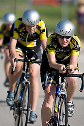 DePauw competes in the Women's Division II team time trial.The 2007 USA Cycling Collegiate Road Championship team time trial were held in Lawrence, Kansas on May 11, 2007.