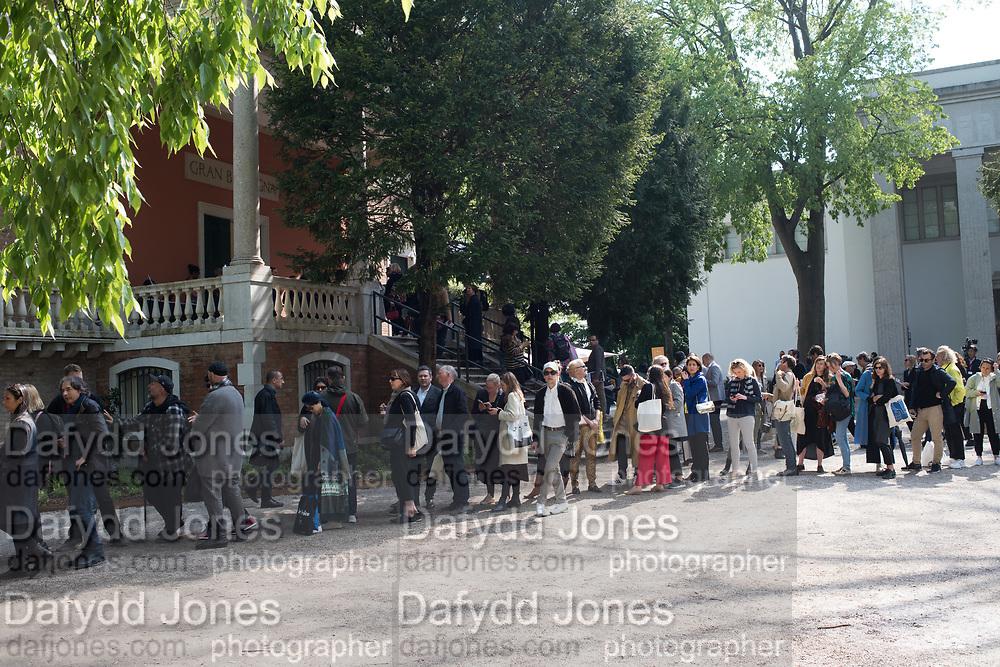 Opening of the Venice Biennale, Giardini, Venice, 9 May 2019
