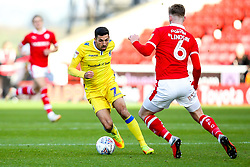 Liam Sercombe of Bristol Rovers takes on Liam Lindsay of Barnsley - Mandatory by-line: Robbie Stephenson/JMP - 27/10/2018 - FOOTBALL - Oakwell Stadium - Barnsley, England - Barnsley v Bristol Rovers - Sky Bet League One