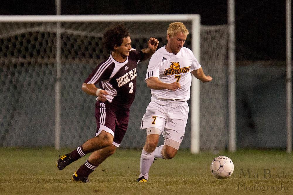 2010-09-04 - Rowan University Men's Soccer vs Rhode Island College