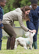 "Kate Middleton Visits ""Farm For City Children"""