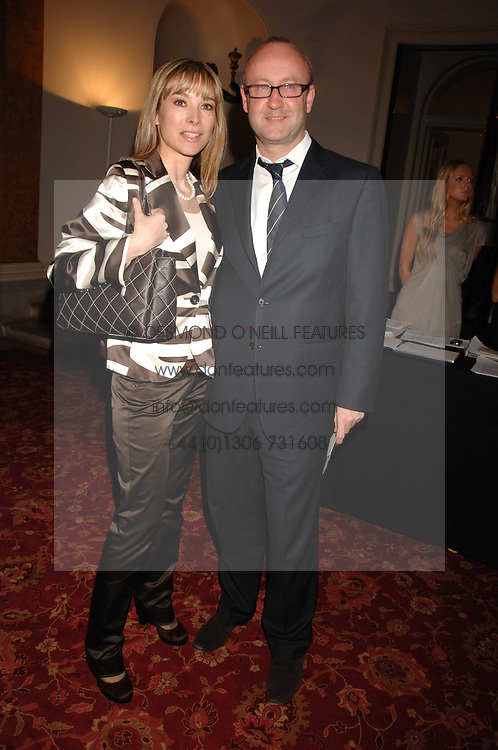 SEBASTIAN SAINSBURY and AURELIA BONITO at Eterna - The Sand of Gobi a fashion show featuring fashion from Mongolia to honour the official visit of the President of Mongolia to the UK held at Lancaster House, London on 16th April 2007.<br /><br />NON EXCLUSIVE - WORLD RIGHTS
