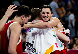 Semen Antonov of Russia celebrates during basketball match between National Teams of Greece and Russia at Day 14 in Round of 16 of the FIBA EuroBasket 2017 at Sinan Erdem Dome in Istanbul, Turkey on September 13, 2017. Photo by Vid Ponikvar / Sportida