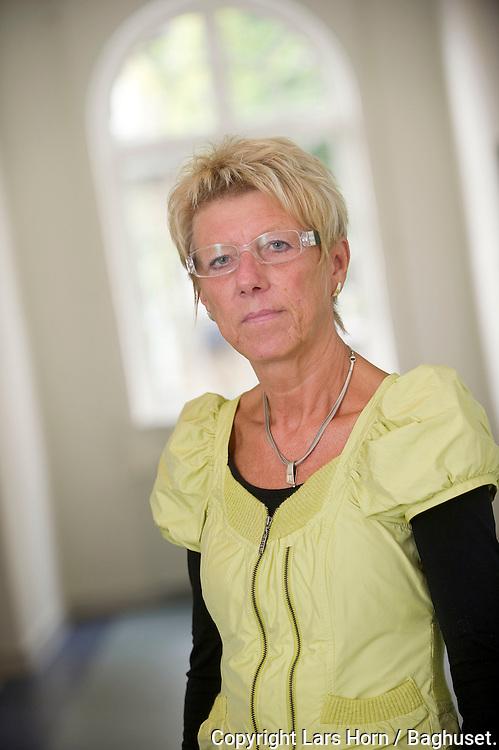 Jane Kvist leder af Dagpengeenheden Aalborg Kommune.Dato: 09.08.10.© Foto: Lars Horn / Baghuset.