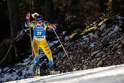 Hanna Oeberg (SWE) during the Women 15 km Individual Competition at day 2 of IBU Biathlon World Cup 2019/20 Pokljuka, on January 23, 2020 in Rudno polje, Pokljuka, Pokljuka, Slovenia. Photo by Peter Podobnik / Sportida