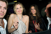 TAMSIN EGERTON, CHLOE PRIDHAMPatti and Andy Wong  host a night of Surrealism to Celebrate the Chinese Year of the Rat. County Hall Gallery and Dali Universe. London. 27 January 2008. -DO NOT ARCHIVE-© Copyright Photograph by Dafydd Jones. 248 Clapham Rd. London SW9 0PZ. Tel 0207 820 0771. www.dafjones.com.