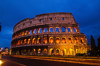 Italia - Roma - Vista para o Coliseu - Foto: Gabriel Lordello/ Mosaico Imagem