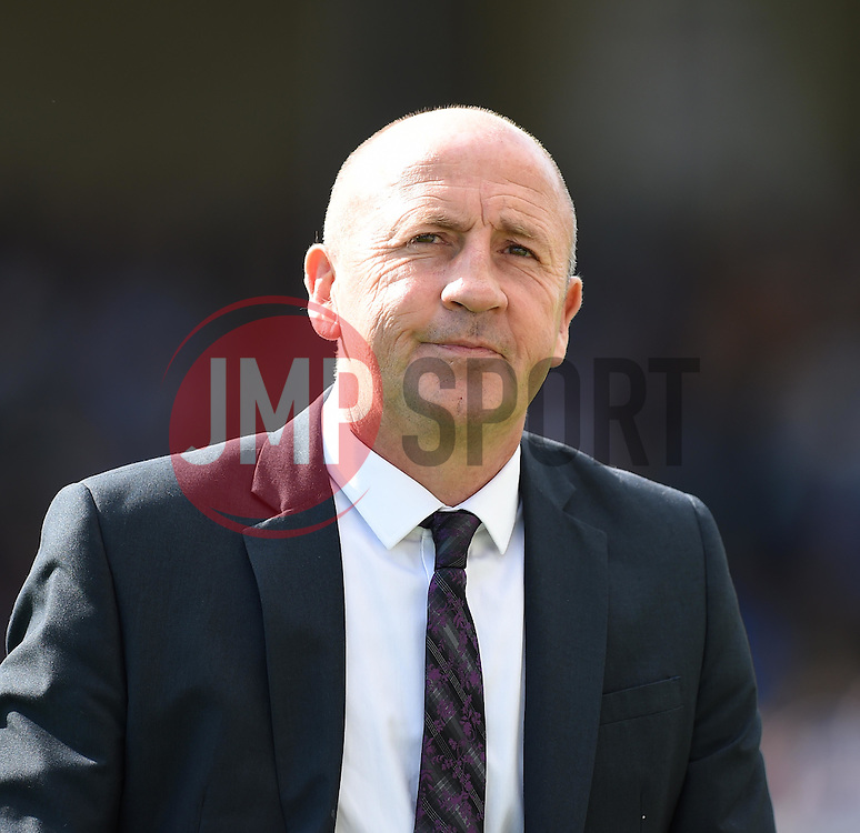 Accrington Stanley Manager John Coleman - Mandatory by-line: Paul Knight/JMP - Mobile: 07966 386802 - 12/09/2015 -  FOOTBALL - Memorial Stadium - Bristol, England -  Bristol Rovers v Accrington Stanley - Sky Bet League Two