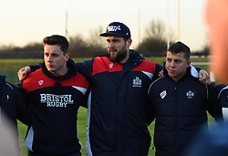 Bristol Rugby's Jon Fisher with academy players after defeat to Saracens - Mandatory by-line: Paul Knight/JMP - 21/01/2017 - RUGBY - SGS Wise Campus - Bristol, England - Bristol Academy U18 v Saracens Academy U18 - Premiership Rugby Academy U18 League