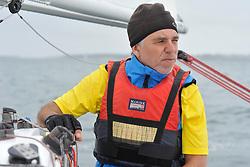 Nicolas Vimont-Vicary - Stage d'entrainement avec l'equipe France de voile - Sonar a ENVSN, St Pierre de Quiberon