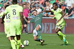 September 10, 2017 - Saint Etienne - Stade Geoffroy, France - Remy Cabella (saint etienne) vs Lassana Coulibaly  (Credit Image: © Panoramic via ZUMA Press)