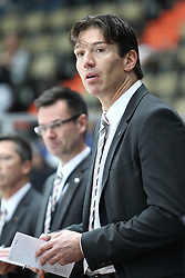 13.11.2010, Olympiahalle, Muenchen, GER, Deutschlandcup , Slovakei vs Deutschland , im Bild Krupp Uwe Head (Head Coach Deutschland) , EXPA Pictures © 2010, PhotoCredit: EXPA/ nph/  Straubmeier+++++ ATTENTION - OUT OF GER +++++