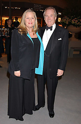 NICHOLAS & ANNIE COLQUOHOUN-DENVERS at the British Antiques Dealers Association antiques & Fine art fair in aid of the charity Childline held at the Duke of York Square, Chelsea, London on 23rd March 2006.<br /><br />NON EXCLUSIVE - WORLD RIGHTS
