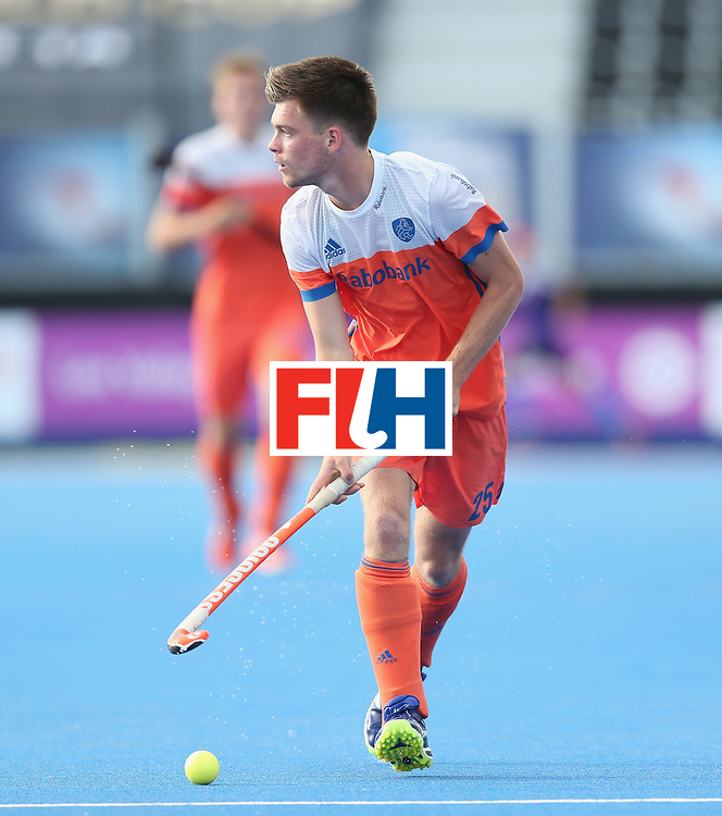 LONDON, ENGLAND - JUNE 15:  Thierry Brinkman of the Netherlands during the Hero Hockey World League Semi Final match between Netherlands and Pakistan at Lee Valley Hockey and Tennis Centre on June 15, 2017 in London, England.  (Photo by Alex Morton/Getty Images)