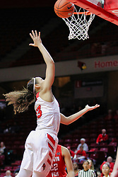 NORMAL, IL - December 04: Katrina Beck during a college women's basketball game between the ISU Redbirds  and the Austin Peay Governors on December 04 2018 at Redbird Arena in Normal, IL. (Photo by Alan Look)