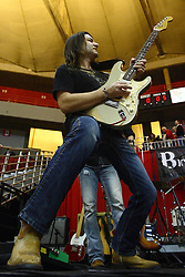 29 December 2011:  Kirk Ellis.  The BrusfhFire Band performed during an NCAA mens basketball game between the Northern Illinois Panthers and the Illinois State Redbirds in Redbird Arena, Normal IL
