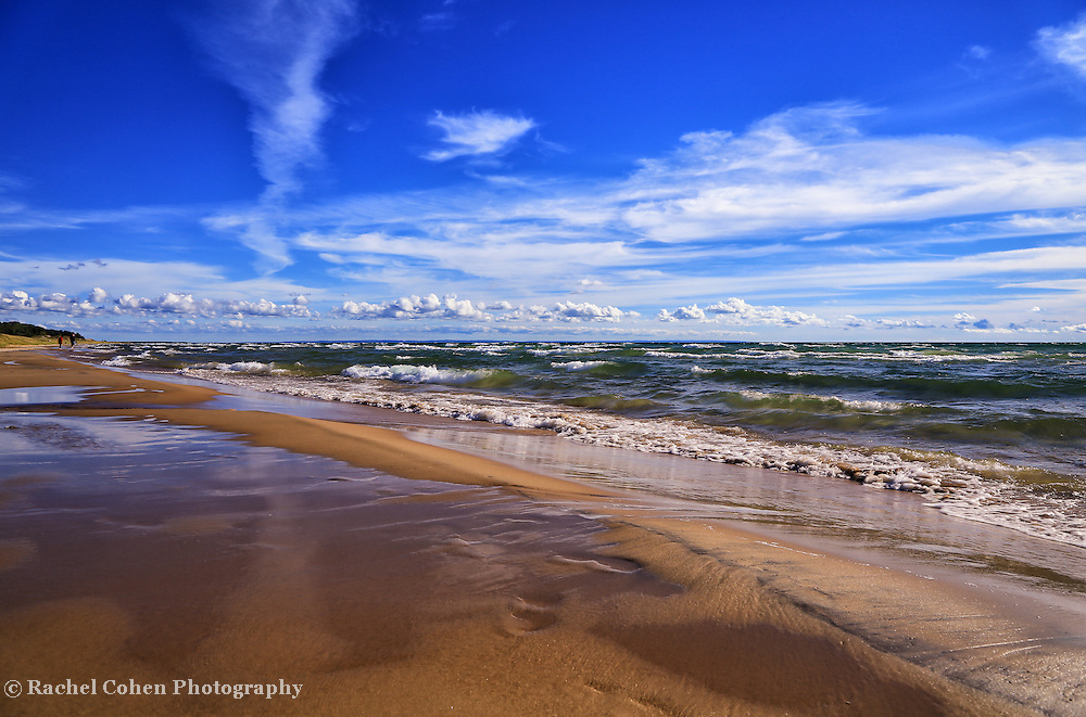 &quot;Beach Combing&quot;<br /> <br /> Enjoy a walk along beautiful Lake Michigan on the southern part of the Upper Peninsula!!<br /> <br /> The Great Lakes by Rachel Cohen