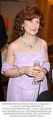 BARONESS HELENA KENNEDY QC.at a reception in London on 16th May 2002.PAA 20