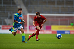 ST HELENS, ENGLAND - Monday, December 10, 2018: Liverpool's Liam Coyle during the UEFA Youth League Group C match between Liverpool FC and SSC Napoli at Langtree Park. (Pic by David Rawcliffe/Propaganda)