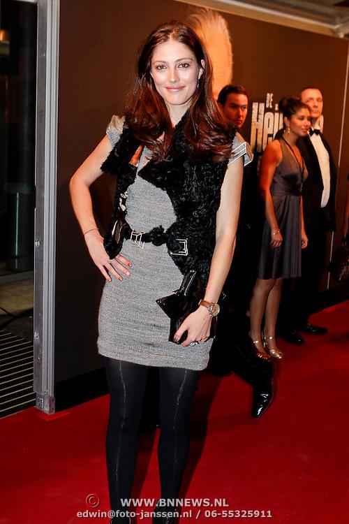 NLD/Amsterdam/20111017 - Premiere De Heineken Ontvoering, Nadia Palesa