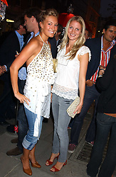 Left to right, MISS OLIVIA BUCKINGHAM and MISS WILLOW CORBETT-WINDER at a party to celebrate the opening of the new Lotus store at 11 Pont Street, London SW1 on 13th September 2005.<br /><br />NON EXCLUSIVE - WORLD RIGHTS