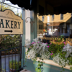 A bakery at Mill Falls Marketplace  in Meredith, New Hampshire.