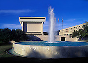 Image of the Lyndon Baines Johnson Library and Museum at the University of Texas in Austin, Texas, American Southwest