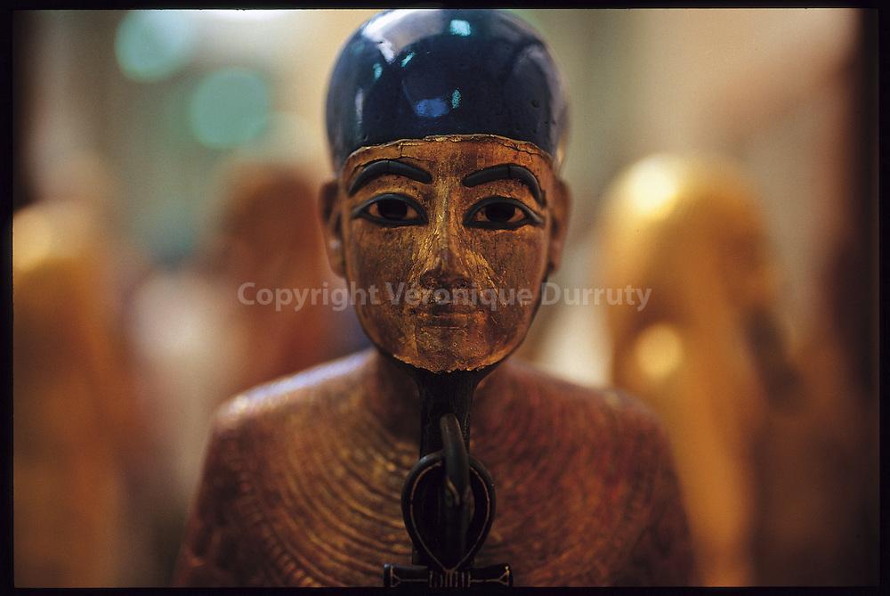 Statuette conservee au musee du Caire, Egypte
