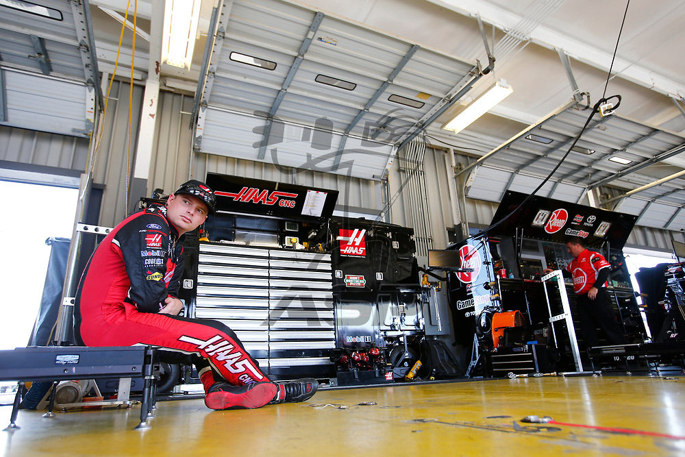 July 12, 2018 - Sparta, Kentucky, USA: Cole Custer (00) gets ready to practice for the Alsco 300 at Kentucky Speedway in Sparta, Kentucky.
