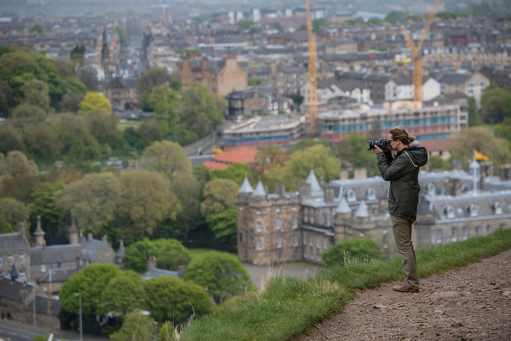 Touring Edinburgh, Scotland with Will Taylor, Terri Bryce and Jon Arman.