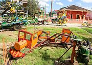Carnival rides in Ciro Redondo, Ciego de Avila, Cuba.