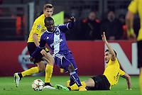 v.l. Erik Durm, Frank Acheampong, Nuri Sahin (Dortmund)<br /> Fussball Champions League, Gruppenphase, Borussia Dortmund - RSC Anderlecht<br /> Norway only
