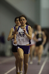 London, Ontario ---10-01-23---  Lorelle  Convery of the Western Mustangs competes at the 2010 Don Wright Team Challenge in London, Ontario, January 23, 2010..GEOFF ROBINS Mundo Sport Images