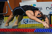 Mathilde Cini (FRA) competes on Women's 50 m Backstroke during the French Open 2018, at Aquatic Center Odyssée in Chartres, France on July 7th to 8th, 2018 - Photo Stephane Kempinaire / KMSP / ProSportsImages / DPPI