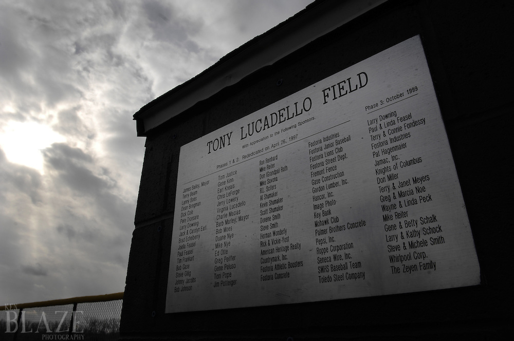 Photo taked from a story about baseball scout Tony Lucadello..Photo by Ken Blaze