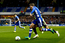 Adam Reach of Sheffield Wednesday takes on Tommy Smith of Huddersfield Town - Mandatory by-line: Matt McNulty/JMP - 17/05/2017 - FOOTBALL - Hillsborough - Sheffield, England - Sheffield Wednesday v Huddersfield Town - Sky Bet Championship Play-off Semi-Final 2nd Leg