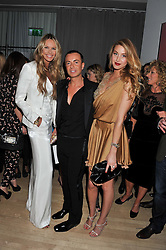 Left to right, ELLE MACPHERSON, JULIEN MACDONALD and WHITNEY PORT at the 2012 Rodial Beautiful Awards held at The Sanderson Hotel, Berners Street, London on 6th March 2012.