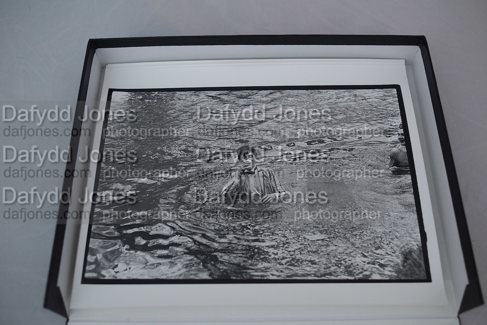 BOY IN RIVER. May Morning. Oxford. 1 May 1983.