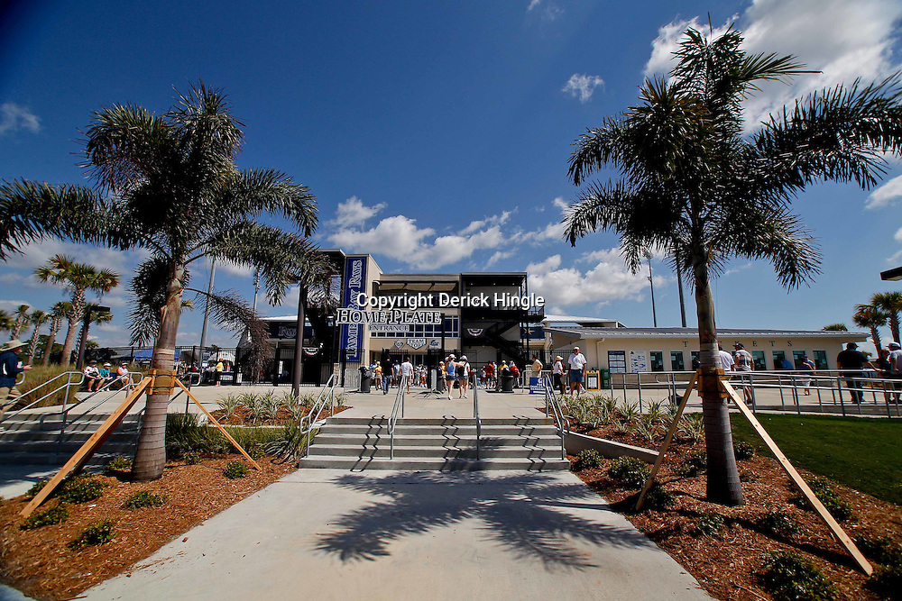February 26, 2011; Port Charlotte, FL, USA; A general view outside prior to a spring training exhibition game between the Pittsburgh Pirates and the Tampa Bay Rays at Charlotte Sports Park.  Mandatory Credit: Derick E. Hingle